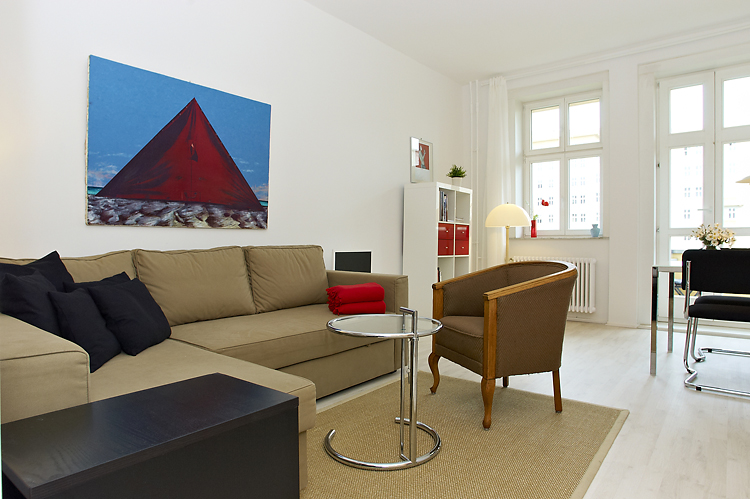 Apartment in the historic part of Berlin